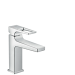 Metropol Single lever basin mixer 110 with loop handle and pop-up waste set 74506000