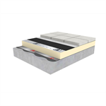 rubbergard epdm roof ballasted system (terrace)