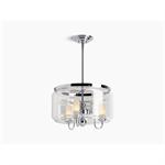 artifacts® three-light chandelier