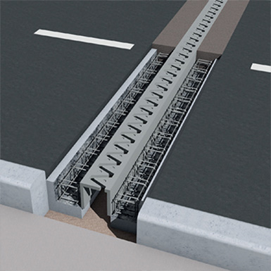 concrete: trafficable steel fiber repair - r4 - masteremaco t 1400 fr