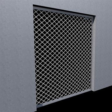 dentel corrugated grille