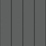 reveal panel facade (250 mm, prepatina graphite-grey)