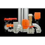 pvc-c butterfly valves
