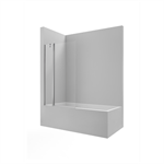 VICTORIA B1HF 1000 - Swing panel + 1 fixed panel for bath