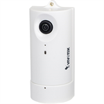 CC8130 Compact Cube Network Camera, 1MP, Panoramic View, Compact Size