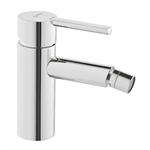 Balance Single lever bidet mixer. With automatic waste.