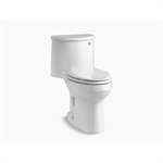 adair® comfort height® one-piece elongated 1.28 gpf toilet with aquapiston® flushing technology and right-hand trip lever