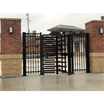Full Height Galvanized Steel Turnstile Series