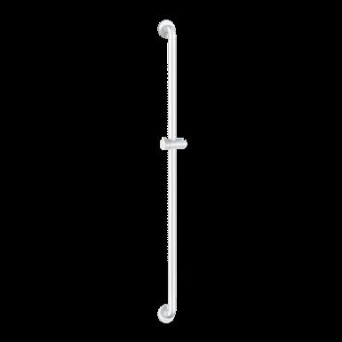 5460N Shower bar with sliding shower head holder white Nylon