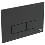 oleas m2 flush plate dual white ideal standard branded