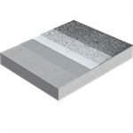 spray-applied waterproofing system for car parking and bridge decks with sikalastic®-8800  one shot system