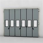 ASSA ABLOY FD2250P Folding Door (4+2)(2+4) Manual DLW 3850-7500mm DLH 1850-6000mm