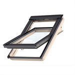 bottom operated std. pinewood roofwindow centre-pivot - gzl 1051b
