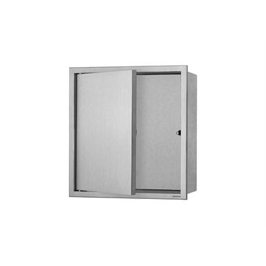 Wall niche BOX with door  (10 cm)