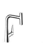 M5115-H220 Single lever kitchen mixer with pull-out spout 73852000