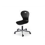 Chair Karoline gas Alu medium sh 38-50 cm with wheels