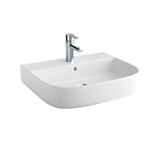 Mid Wash-basin 550x450 wall-hung, pedestal or semi-pedestal