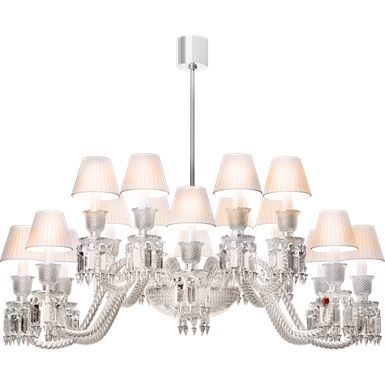 ellipse chandelier 16l