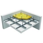 Siniat NIDA ceiling DK/WON/CD 60 - 60