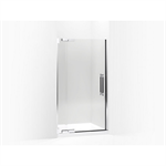 """pinstripe® pivot shower door, 72-1/4"""" h x 39-1/4 - 41-3/4"""" w, with 3/8"""" thick crystal clear glass"""