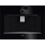 AEG BI Coffee machine 46*60 Horizon Line Black
