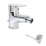 Nox Single lever bidet mixer with automatic waste