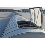 KlarValv Continuous Roof Lights
