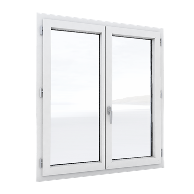 m3d alu - fenêtre 2 vantaux