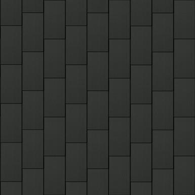 bardeaux facade (500 mm x 1000 mm, vertical, artcolor basalte)