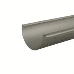 gutter half-round (size 333, prepatina graphite-grey)