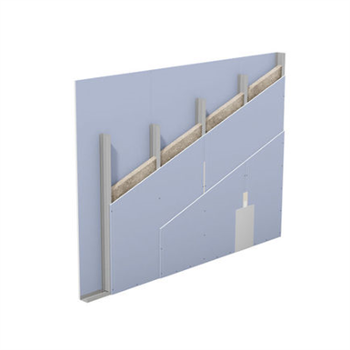 w112.de – knauf metal stud partition – single metal stud frame, double-layer cladding