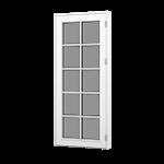 Forma Premium terrace door with glazing bars outward