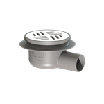 kessel-balcony drain 40152.71 lateral ø 50, with inserted cover