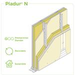 1.2.1 SEPARATION WALLS - Twin frame - Split cavity