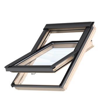 bottom operated std+ pinewood roof window centre-pivot - gll 1061b