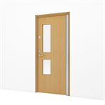 Timber Door, Premium Education – Single