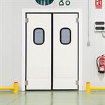 Porte va-et vient industrielle semi-isotherme