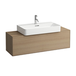 BOUTIQUE Vanity unit 1200 x 380 mm, with center cut out, with siphon