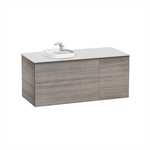 BEYOND Base unit for in countertop basin on the left