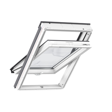 Top Operated Std+ Polyurethane Roofwindow Centre-pivot - GLU 0061
