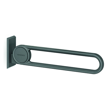 cavere stützklappgriff vario 7447010, einhängbar, l = 600 mm, mit grundplatte