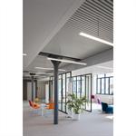 pline suspension with false ceiling