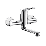 2446  wall-mounted mechanical basin mixer