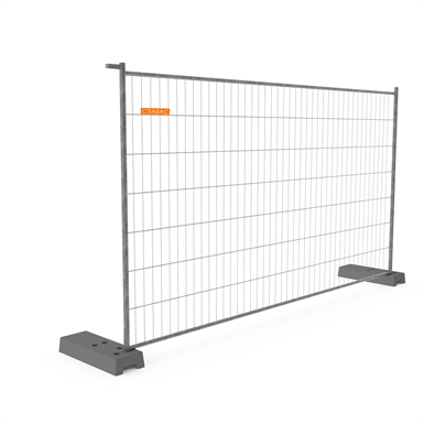 cisabac clôture mobile grillagée cmgr 235