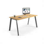 delta slim incliné – individual desk