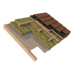 copertura inclinata in legno isolata in estradosso (it)