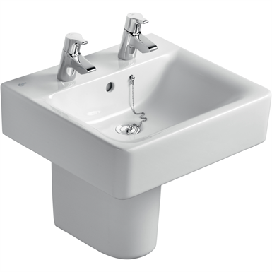 cube basin 50x46 white 2th of ch