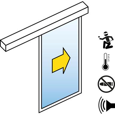 Sliding Door bullet and burglar resistance