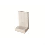 l-tec - length 49 cm - surface fairface concrete