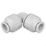 Polybutylene Push-Fit 90 Elbow - 15, 22, 28mm - 36043, 36044, 36045